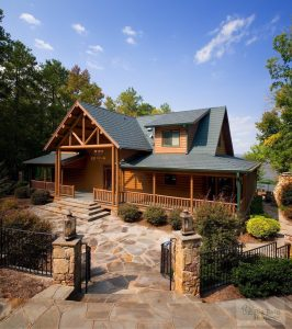 Energy efficient Katahdin Cedar Log HOmes through Carolinas based dealers Big Twig Homes