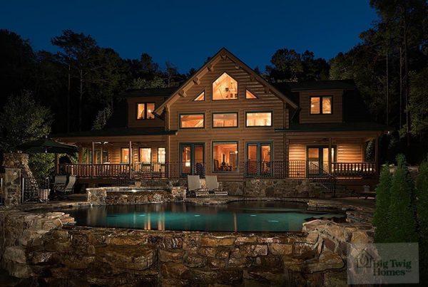 Big Twig Homes Katahdin Cedar Log Home kit