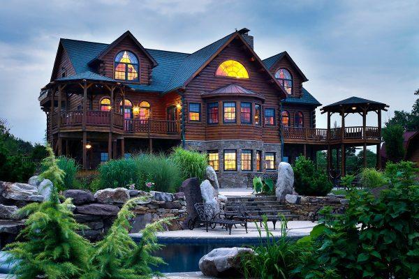 Katahdin Cedar Log Home package