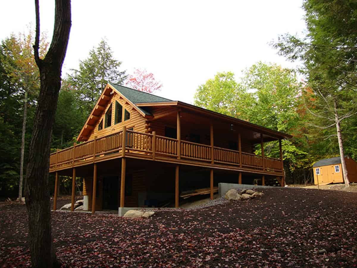 big twig homes has experience in log home construction.