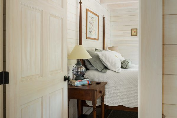 An image of the bedroom in a new home built by Big Twig Homes.