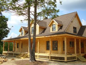 log home manufacturer