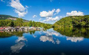 Lake Lure NC summerhouse location